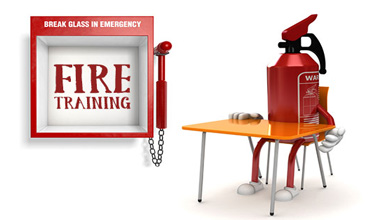 Fire Training and Presentations of Certificates